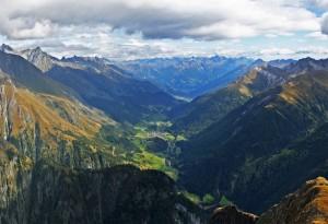Das Virgental in den Osttiroler Hohen Tauern