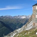 Neue Sajat Hütte auf dem Venediger Höhenweg