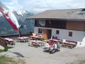 Zunigalm mit Terrasse - Lasörling Höhenweg