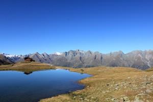 Zupalsee am Lasörling Höhenweg