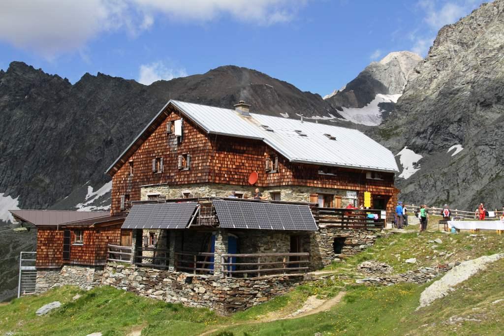 Bonn Matreier Hütte im Venediger Höhenweg