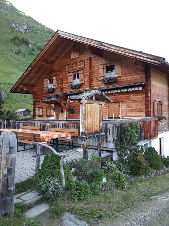 Bodenalm mit Terrasse