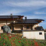 Niljoch Hütte - von außen